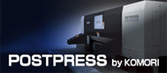 POSTPRESS by KOMORI
